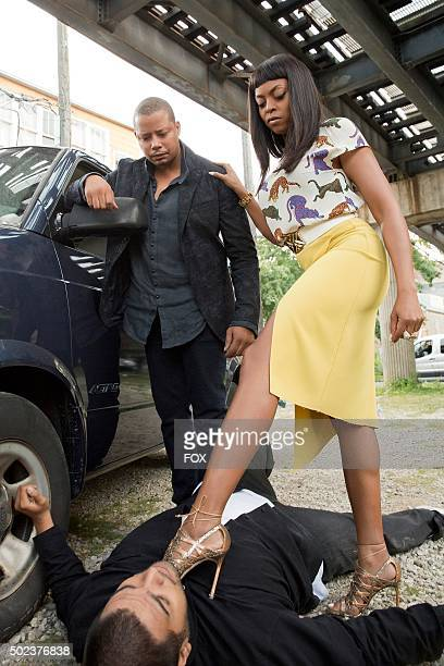 Taraji P Henson and Terrence Howard in the A High Hope For A Low Heaven episode of EMPIRE airing Wednesday Nov 4 on FOX