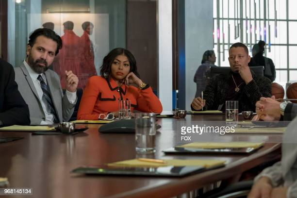 Taraji P Henson and Terrence Howard in the 'Bloody Noses Crack'd Crowns' episode of EMPIRE airing Wednesday May 16 on FOX