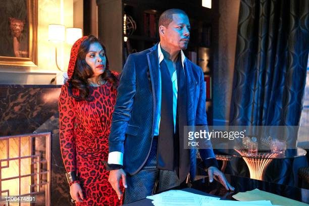 """Taraji P. Henson and Terrence Howard in the """"Can't Truss 'Em"""" spring premiere episode of EMPIRE airing Tuesday, March 3 on FOX."""
