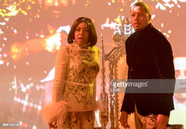Taraji P Henson and Terrence Howard in the 'FAIR TERMS' episode of EMPIRE airing Wednesday May 9 on FOX
