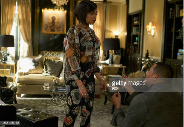 Taraji P Henson and Terrence Howard in the 'The Empire Unposessd' season finale episode of EMPIRE airing Wednesday May 23 on FOX