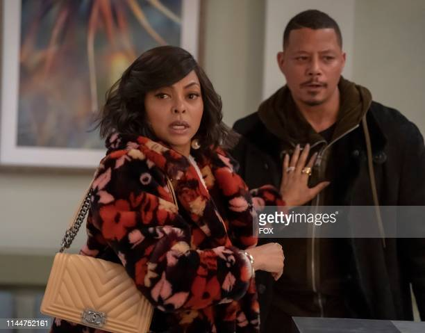 """Taraji P. Henson and Terrence Howard in the """"The Roughest Day"""" Season Five finale episode of EMPIRE airing Wednesday, May 8 on FOX."""