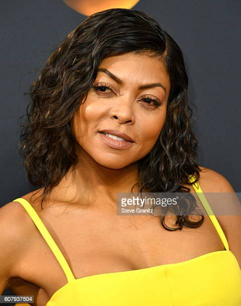 Taraji P Henson arrives at the 68th Annual Primetime Emmy Awards at Microsoft Theater on September 18 2016 in Los Angeles California