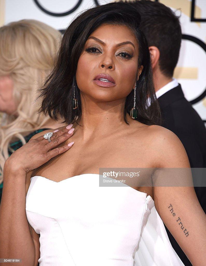 73rd Annual Golden Globe Awards - Arrivals : News Photo