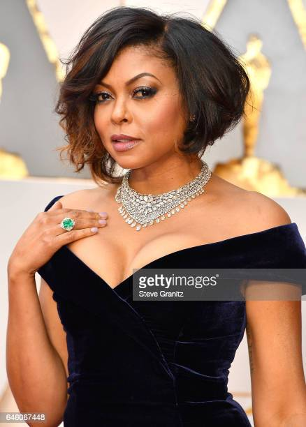 Taraji P Henson arrives at the 89th Annual Academy Awards at Hollywood Highland Center on February 26 2017 in Hollywood California