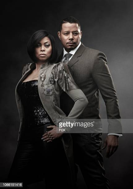 Taraji P Henson as Cookie Lyon and Terrence Howard as Lucious Lyon in Season Five of EMPIRE premiering Wednesday Sept 26 on FOX