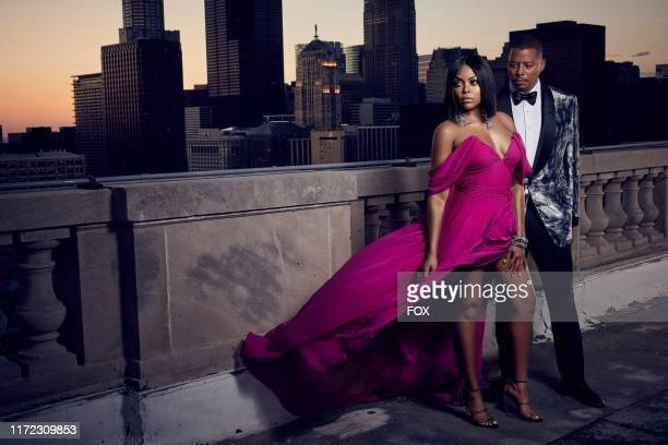 Taraji P. Henson as Cookie Lyon and Terrence Howard as Lucious Lyon in Season 6 of EMPIRE premiering Tuesday, September 24 on FOX.