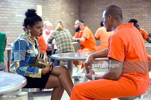 Taraji P Henson as Cookie Lyon and Terrence Howard as Lucious Lyon in the The Devils Are Here Season Two premiere episode of EMPIRE airing Wednesday...