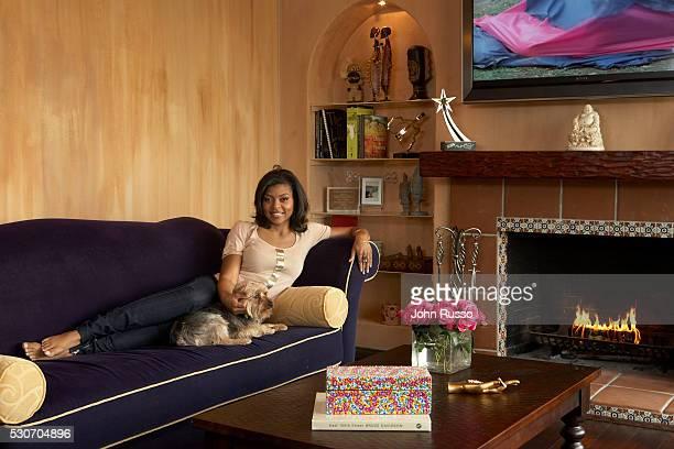 Taraji P Henson at Home