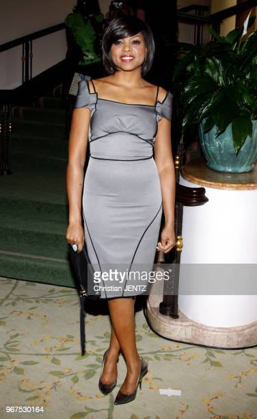 Taraji P Henson at the Essence Black Women in Hollywood Luncheon held at the Beverly Hills Hotel in Beverly Hills California United States