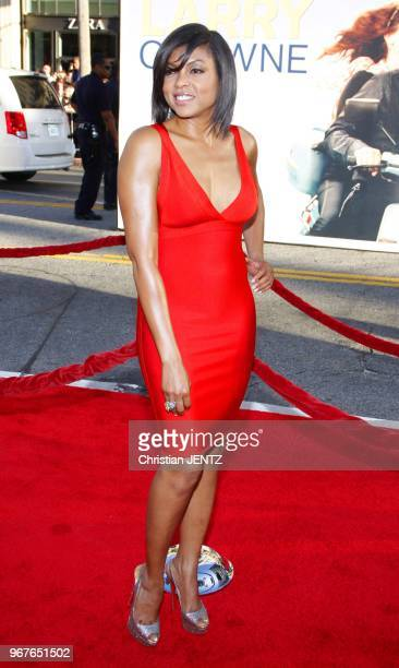 Taraji P Henson at the World Premiere of 'Larry Crowne' held at the Grauman's Chinese Theater in Los Angeles USA on June 27 2011