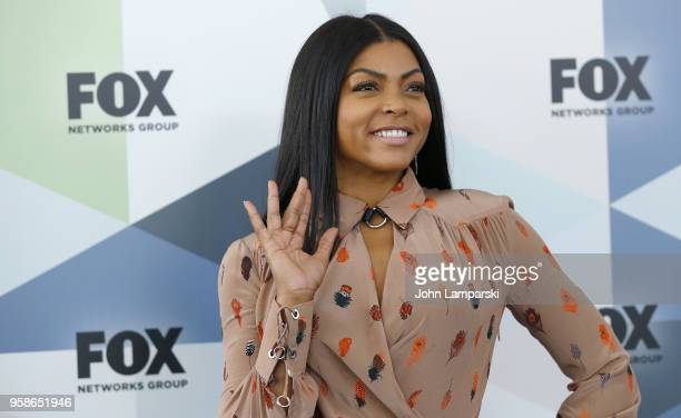 Taraji P Henson attends 2018 Fox Network Upfront at Wollman Rink Central Park on May 14 2018 in New York City