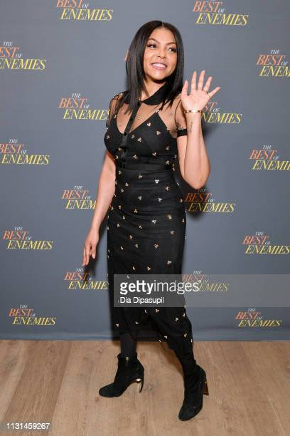 Taraji P Henson attends a photo call for 'The Best Of Enemies' on March 17 2019 in New York City