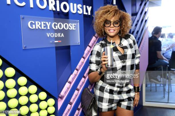 Taraji P. Henson attends as Grey Goose toasts to the 2019 US Open at Arthur Ashe Stadium on September 07, 2019 in New York City.