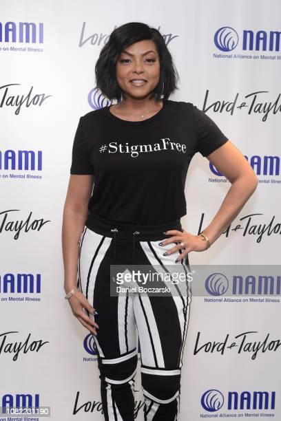 Taraji P Henson attends as NAMI celebrates Lord Taylor Charity Days on January 12 2019 in Schumburg Illinois