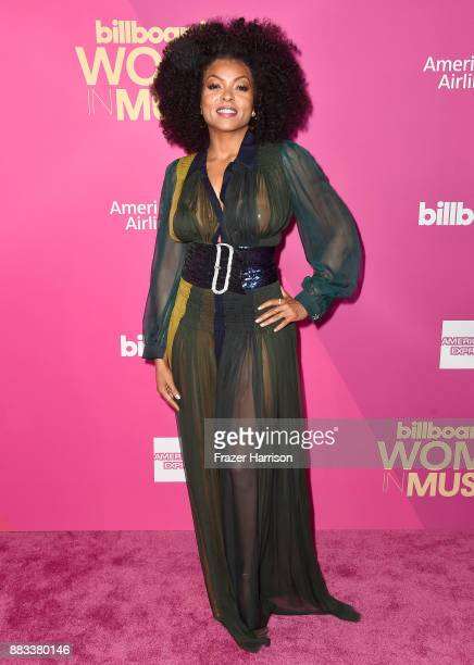 Taraji P Henson attends Billboard Women In Music 2017 at The Ray Dolby Ballroom at Hollywood Highland Center on November 30 2017 in Hollywood...