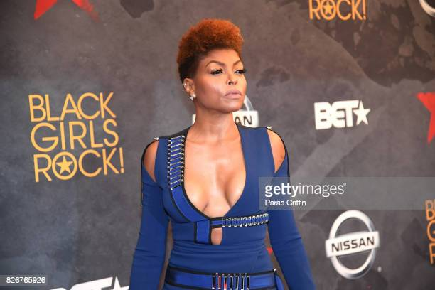Taraji P Henson attends Black Girls Rock 2017 at NJPAC on August 5 2017 in Newark New Jersey