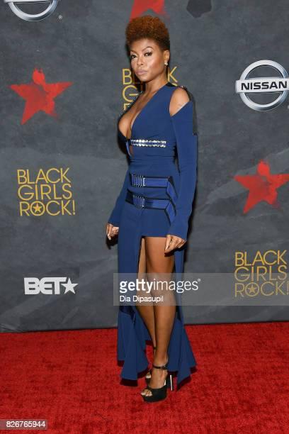 Taraji P Henson attends Black Girls Rock 2017 at NJPAC on August 5 2017 in Newark New Jersey