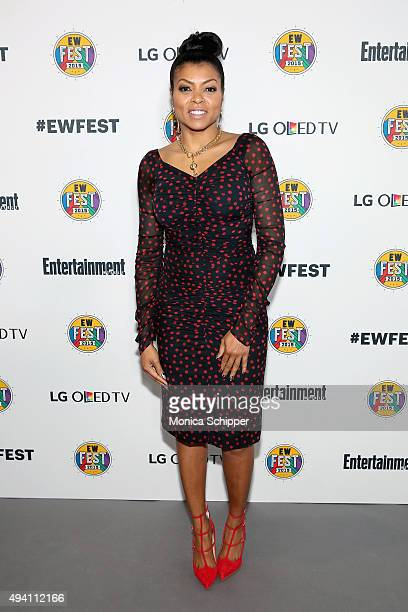 Taraji P Henson attends Entertainment Weekly's first ever 'EW Fest' presented by LG OLED TV on October 24 2015 in New York City
