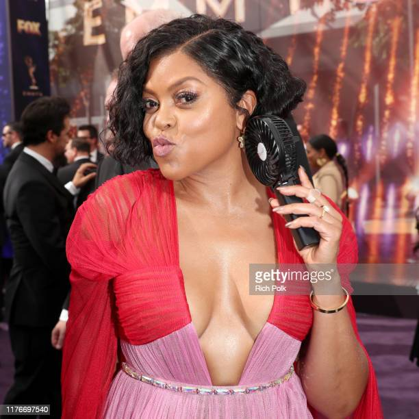 Taraji P. Henson attends IMDb LIVE After the Emmys Presented by CBS All Access on September 22, 2019 in Los Angeles, California.