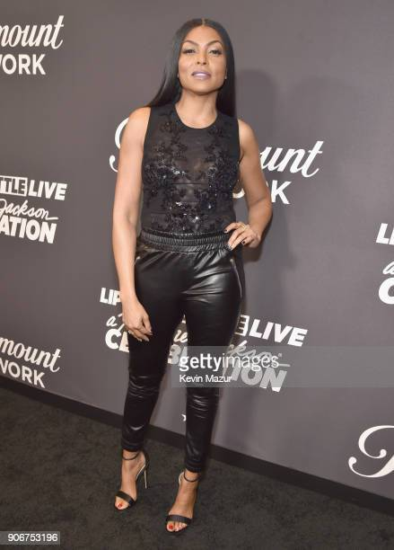 Taraji P Henson attends Lip Sync Battle Live A Michael Jackson Celebration at Dolby Theatre on January 18 2018 in Hollywood California