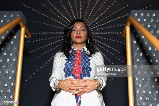"""Taraji P Henson attends """"Refinery29's 29Rooms Turn it Into Art"""" on July 25 2018 in Chicago Illinois"""