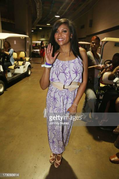 Taraji P Henson attends the 2013 Essence Festival at the MercedesBenz Superdome on July 6 2013 in New Orleans Louisiana