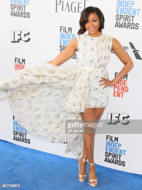Taraji P Henson attends the 2017 Film Independent Spirit Awards on February 25 2017 in Santa Monica California