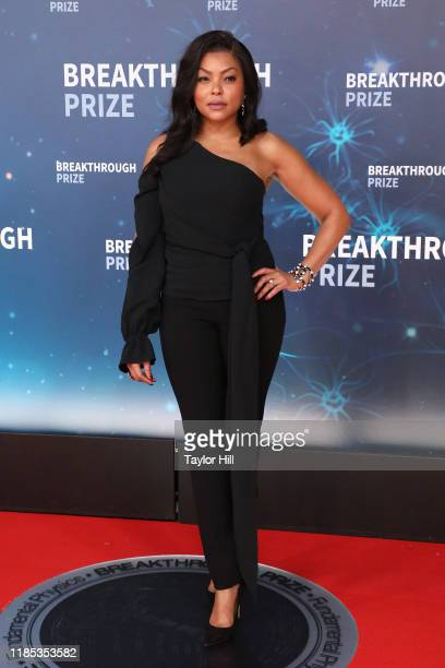 Taraji P Henson attends the 2020 Breakthrough Prize Ceremony at NASA Ames Research Center on November 03 2019 in Mountain View California
