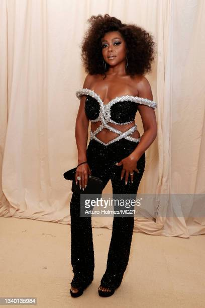 Taraji P. Henson attends The 2021 Met Gala Celebrating In America: A Lexicon Of Fashion at Metropolitan Museum of Art on September 13, 2021 in New...