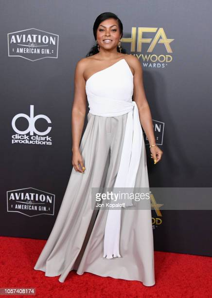 Taraji P Henson attends the 22nd Annual Hollywood Film Awards at The Beverly Hilton Hotel on November 4 2018 in Beverly Hills California