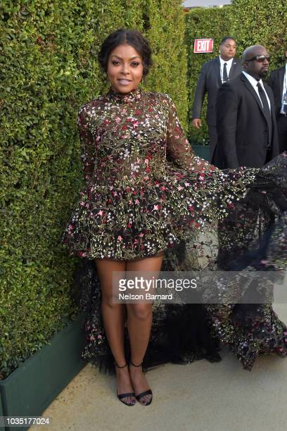 Taraji P Henson attends the 70th Emmy Awards at Microsoft Theater on September 17 2018 in Los Angeles California