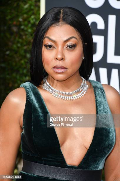 Taraji P Henson attends the 76th Annual Golden Globe Awards held at The Beverly Hilton Hotel on January 06 2019 in Beverly Hills California