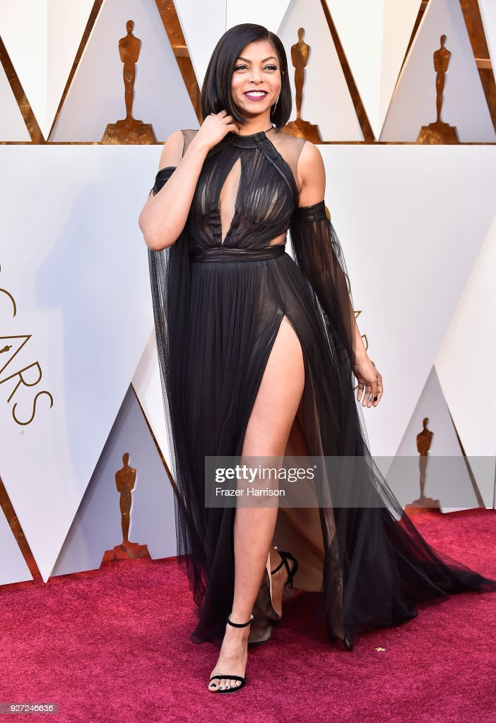 Taraji P. Henson attends the 90th Annual Academy Awards at Hollywood & Highland Center on March 4, 2018 in Hollywood, California.