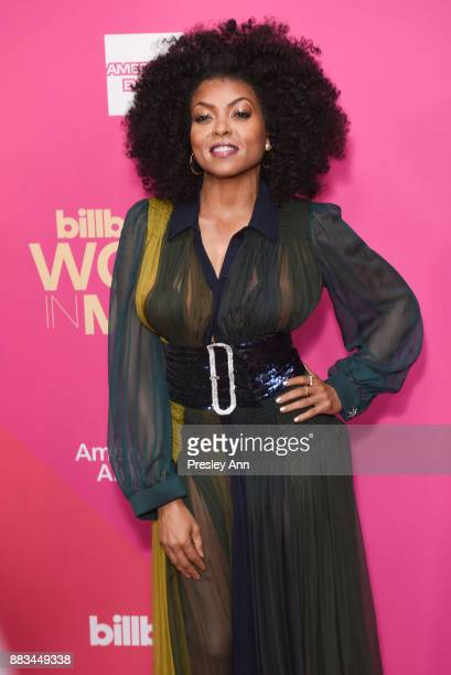 Taraji P. Henson attends the Billboard Women In Music 2017 - Arrivals at The Ray Dolby Ballroom at Hollywood & Highland Center on November 30, 2017...