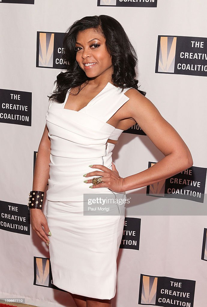 Taraji P. Henson attends The Creative Coalition's 2013 Inaugural Ball on January 21, 2013 in Washington, United States.
