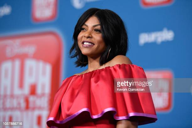 Taraji P Henson attends the premiere of Disney's Ralph Breaks the Internet at El Capitan Theatre on November 5 2018 in Los Angeles California