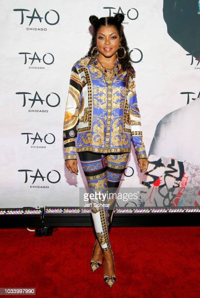 Taraji P Henson attends the TAO Chicago Grand Opening Celebration at TAO Chicago on September 15 2018 in Chicago Illinois
