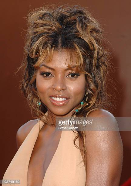 Taraji P Henson during 10th Annual Soul Train Lady of Soul Awards Arrivals at Pasadena Civic Auditorium in Pasadena California United States