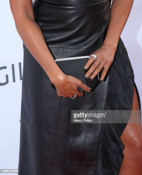 Taraji P Henson fashion detail arrives at the 16th Annual Heroes In The Struggle gala reception and awards presentation at 20th Century Fox on...