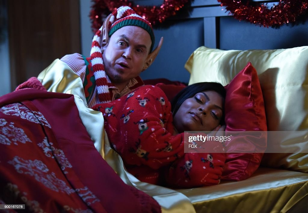 Taraji P. Henson (R) in the TARAJI'S WHITE HOT HOLIDAYS special airing Thursday, Dec. 14 (8:00-9:00 PM ET/PT) on FOX.