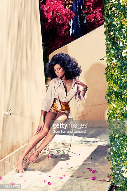 Taraji P. Henson is photographed for Self Assignment on June 27, 2011 in Hollywood, California.
