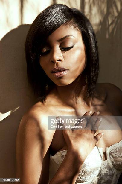 Taraji P Henson is photographed for Self Assignment on June 27 2011 in Hollywood California