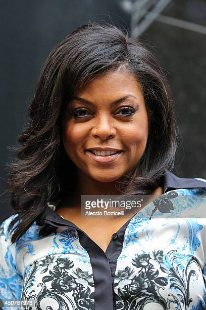 Taraji P Henson is seen at Good Morning America TV Show on June 17 2014 in New York City