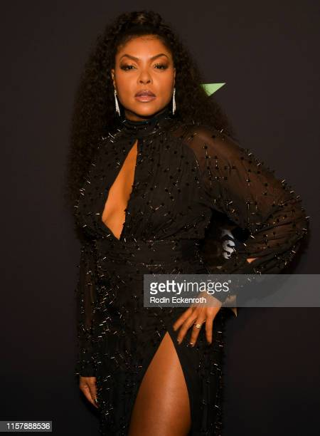 Taraji P Henson poses for a portrait at the 2019 BET Awards on June 23 2019 in Los Angeles California