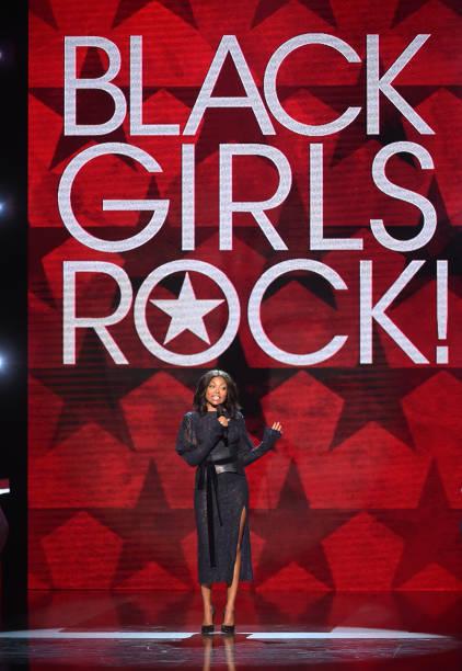 Taraji P Henson Presents Onstage At Black Girls Rock 2017 NJPAC On August