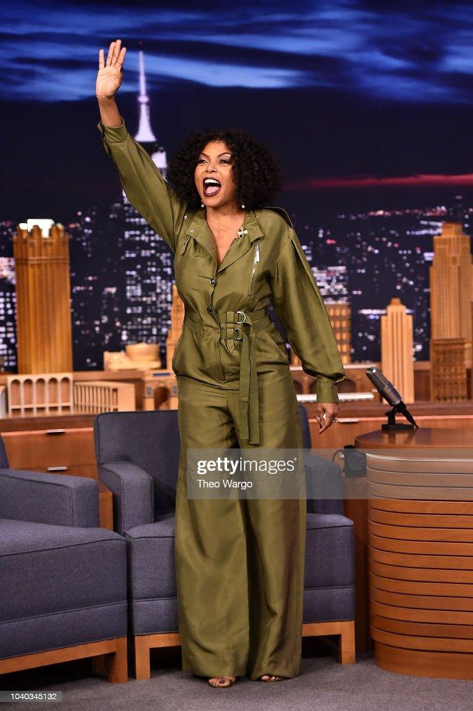 """Taraji P Henson Visits """"The Tonight Show Starring Jimmy Fallon"""""""