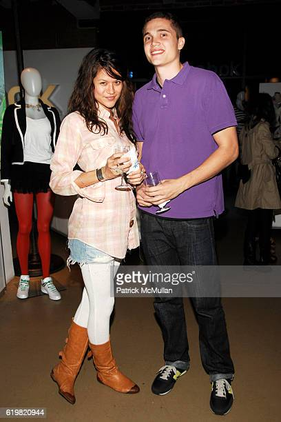 Tarale Wulff and Karl Glusman attend REEBOK Spring/Summer 2009 Preview Party at XCHANGE on October 28 2008 in New York City