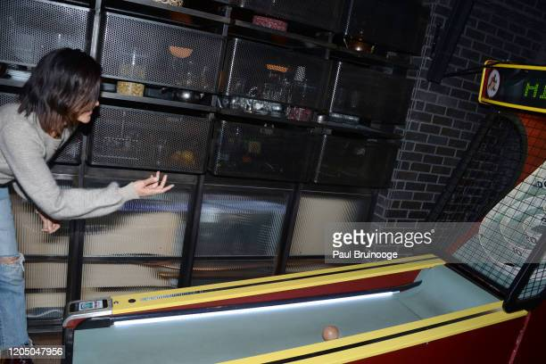 Tarale Wulff attends New York Premiere Of The Social Ones After Party at Alphabet Bar at Moxy East Village on March 3 2020 in New York City
