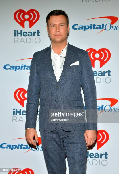 Taran Killam attends the iHeartRadio Music Festival at TMobile Arena on September 22 2018 in Las Vegas Nevada